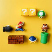Imãs 3D Super Mario 10 Unidades - Envio Internacional