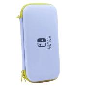Kit de Proteção - Case + Película + Par de Protetores Analógicos - Nintendo Switch Lite Cor: Água