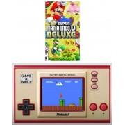Kit Game & Watch Super Mario Bros +  New Super Mario Bros U Deluxe - Nintendo Switch