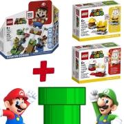 Kit Lego Super Mario - 71360 + 71370 + 71373