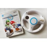 Mario Kart + Volante - Usado - Nintendo Wii
