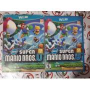 New Super Mario Bros. U - USADO - Nintendo Wii U