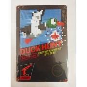 Placa Decorativa - Duck Hunt