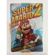 Placa Decorativa - Super Mario Bros 2