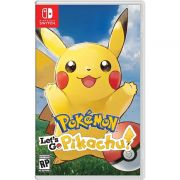 Pokémon: Let's Go, Pikachu! - Switch