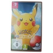 Pokémon: Let's Go, Pikachu! - Switch - Usado