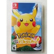 Pokémon: Let's Go, Pikachu! - USADO - Nintendo Switch