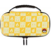 Protection Case Kit Pokemon Checkerboard Powera Yellow - Nintendo Switch Lite