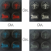 Protetor Analógico Joy-Con - Kit com 4un - Zelda - Nintendo Switch