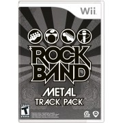 Rock Band Metal Track Pack - USADO - Nintendo Wii