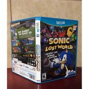Sonic Lost World Wii U - Usado