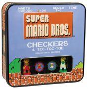 Super Mario Bros Edição de Colecionador Jogo da Velha e Dama