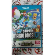Super Mario Bros U. + Super Luigi - USADO - Nintendo Wii U