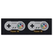 Tapete de Cozinha 1,25x0,40 cm - Super Famicom