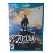The Legend Of Zelda: Breath Of The Wild - Nintendo Wii U - Usado