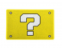 Capacho 60x40cm Interrogação - Amarelo