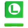 Case Estojo para Cartuchos - 12 Slots - Luigi - Nintendo Switch/Nintendo Switch Lite