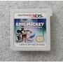 Epic Mickey  Power of Illusion - Cartucho - Nintendo DS - Usado