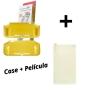Kit Case Crystal Protector + Película de Vidro Temperado - Nintendo Switch Lite