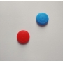 Par de Protetores Analógicos Joy-Con - Azul e Vermelho - Nintendo Switch