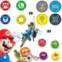 Protetor Analógico Joy-Con - Kit com 4un - Nintendo Switch