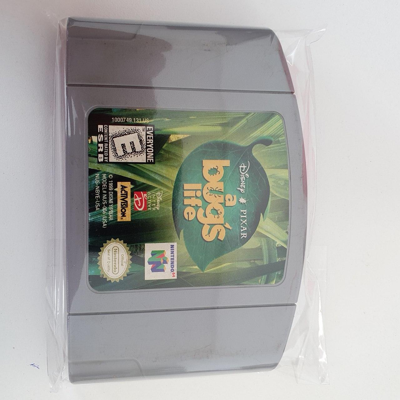 A Bug's Life - Vida de Inseto - Cartucho - Nintendo 64 - Usado
