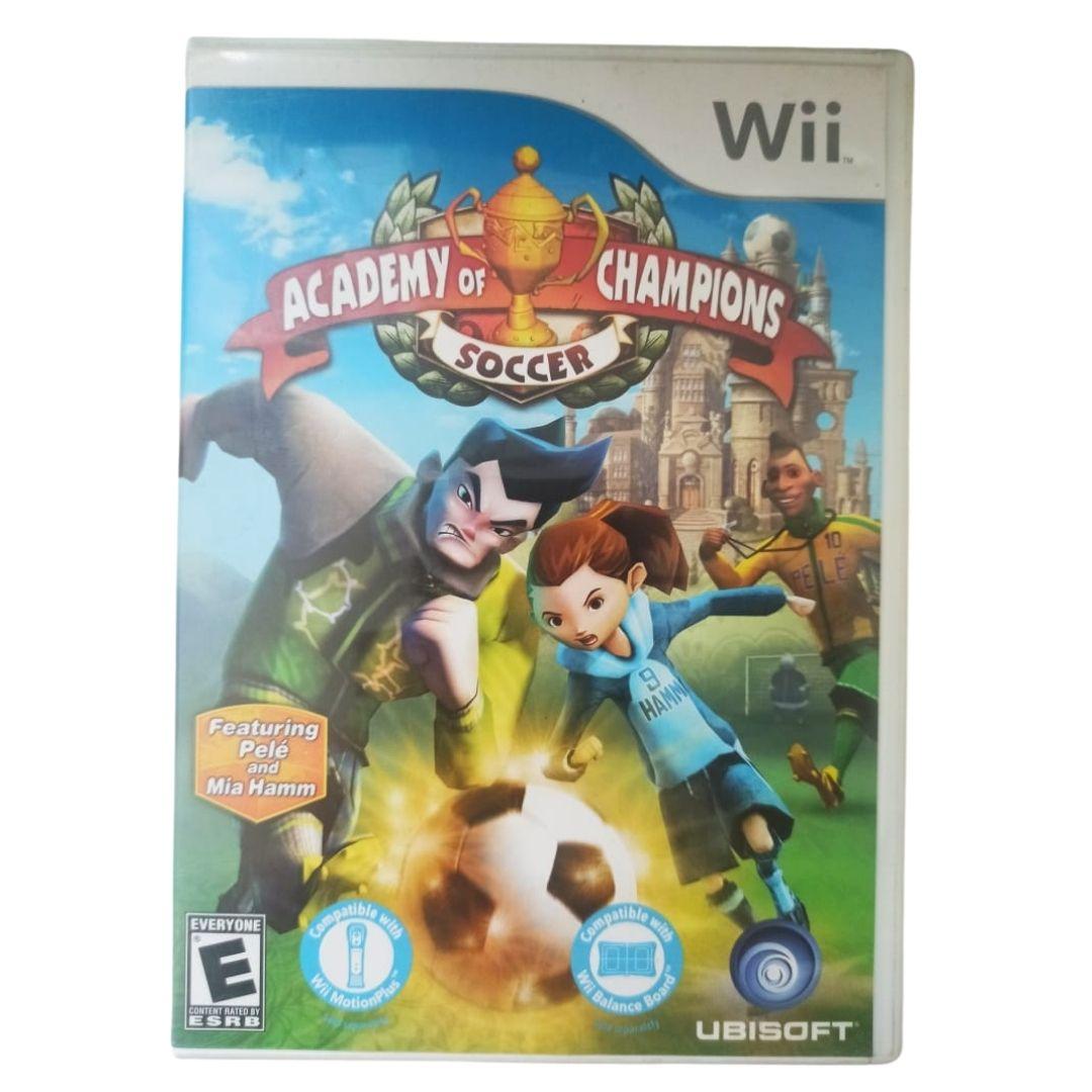 Academy of Champions: Soccer - Nintendo Wii - Usado