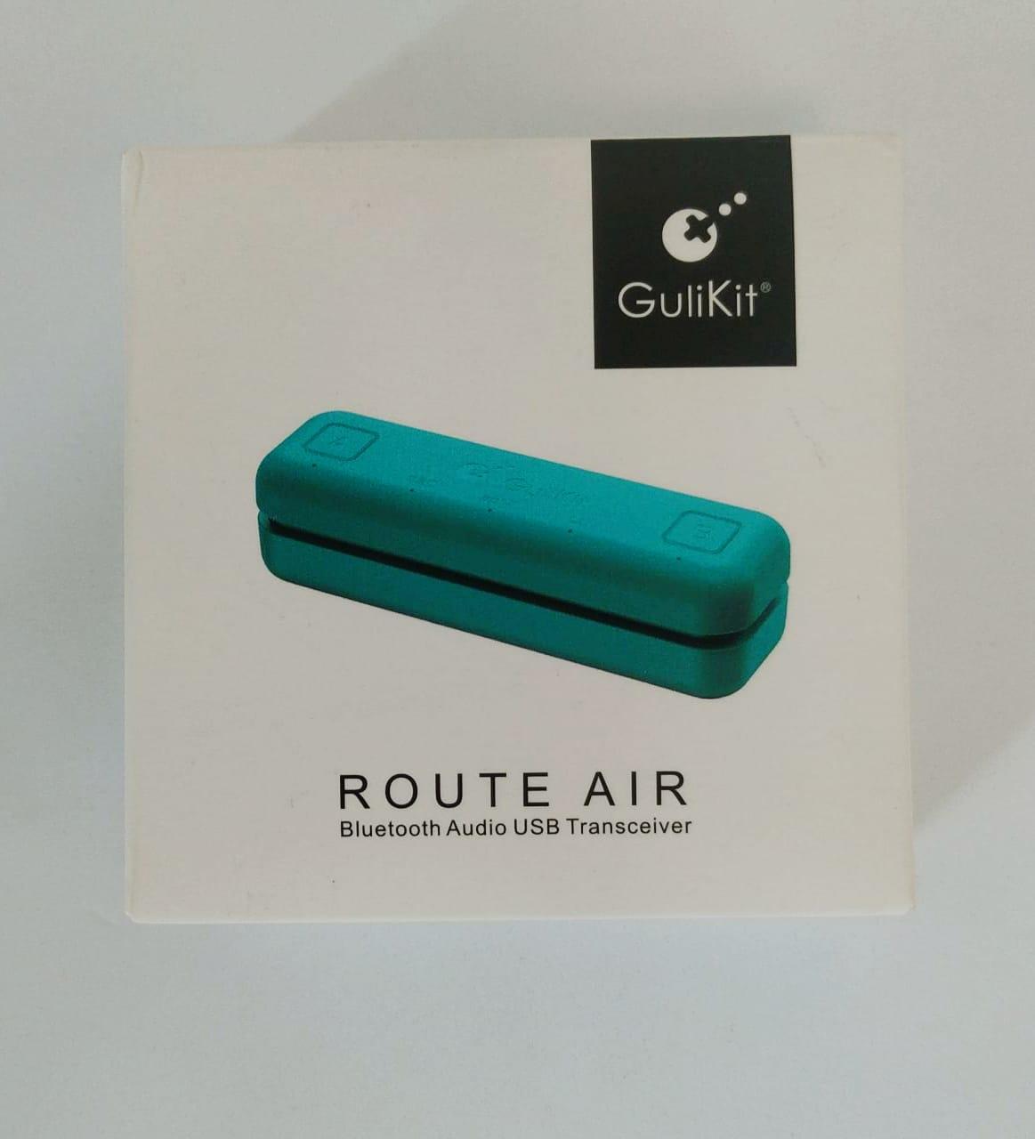 Adaptador Bluethoot GuliKit Route Air  - Nintendo Switch - Usado