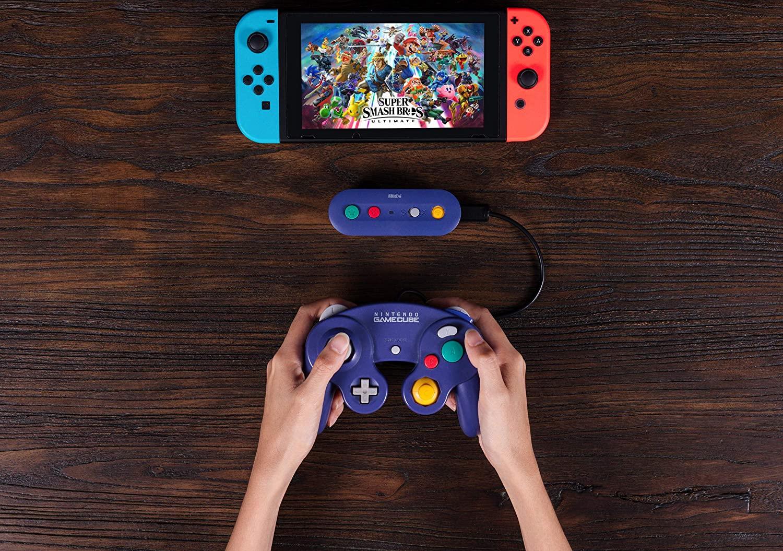 Adaptador GBros. Wireless 8BitDo para Switch - Nintendo Switch - Envio Internacional - Frete Grátis