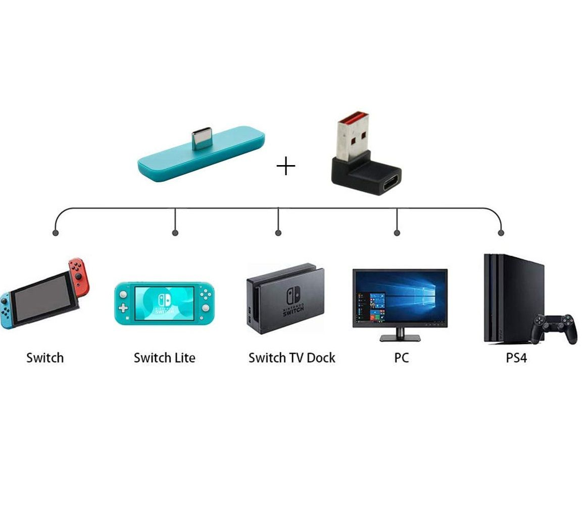 Adaptador Para Fone Bluetooth - Nintendo Switch - Envio Internacional