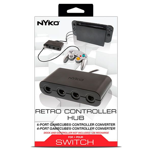 Adaptador Retro Controller Hub Plus Niko Nintendo Switch