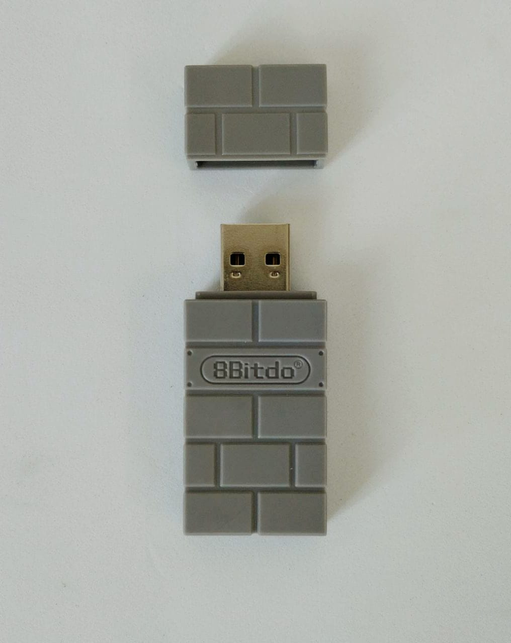 Adaptador Sem Fio 8BitDo Wireless USB (Cinza) - Nintendo Switch - Usado