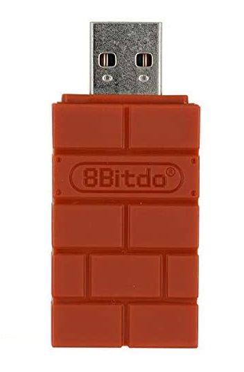 Adaptador Sem Fio 8BitDo Wireless USB - Envio Internacional - Frete Grátis