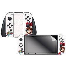 Adesivo Mario Odyssey Capture Map - Nintendo Switch
