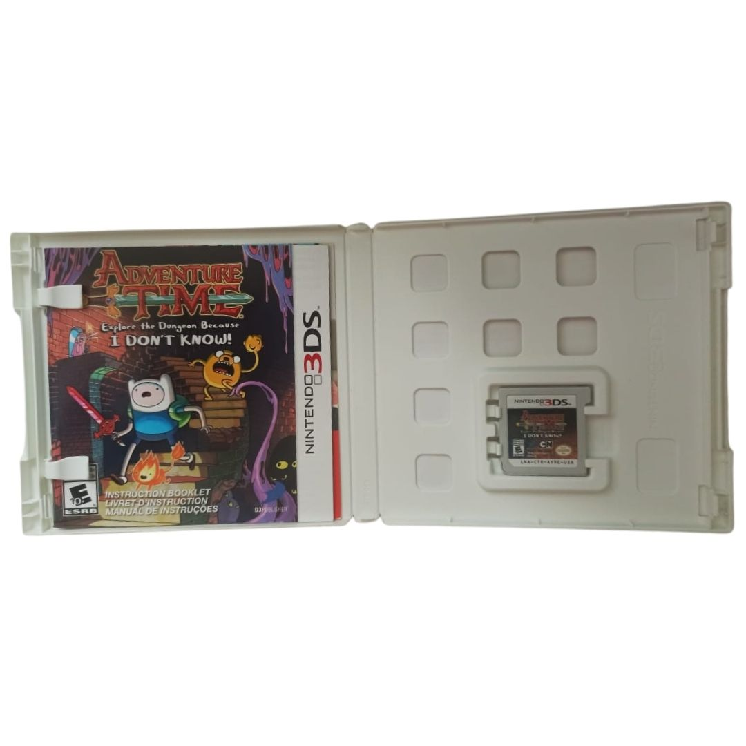 Adventure Time: Edição de Colecionador - Nintendo 3DS - Usado
