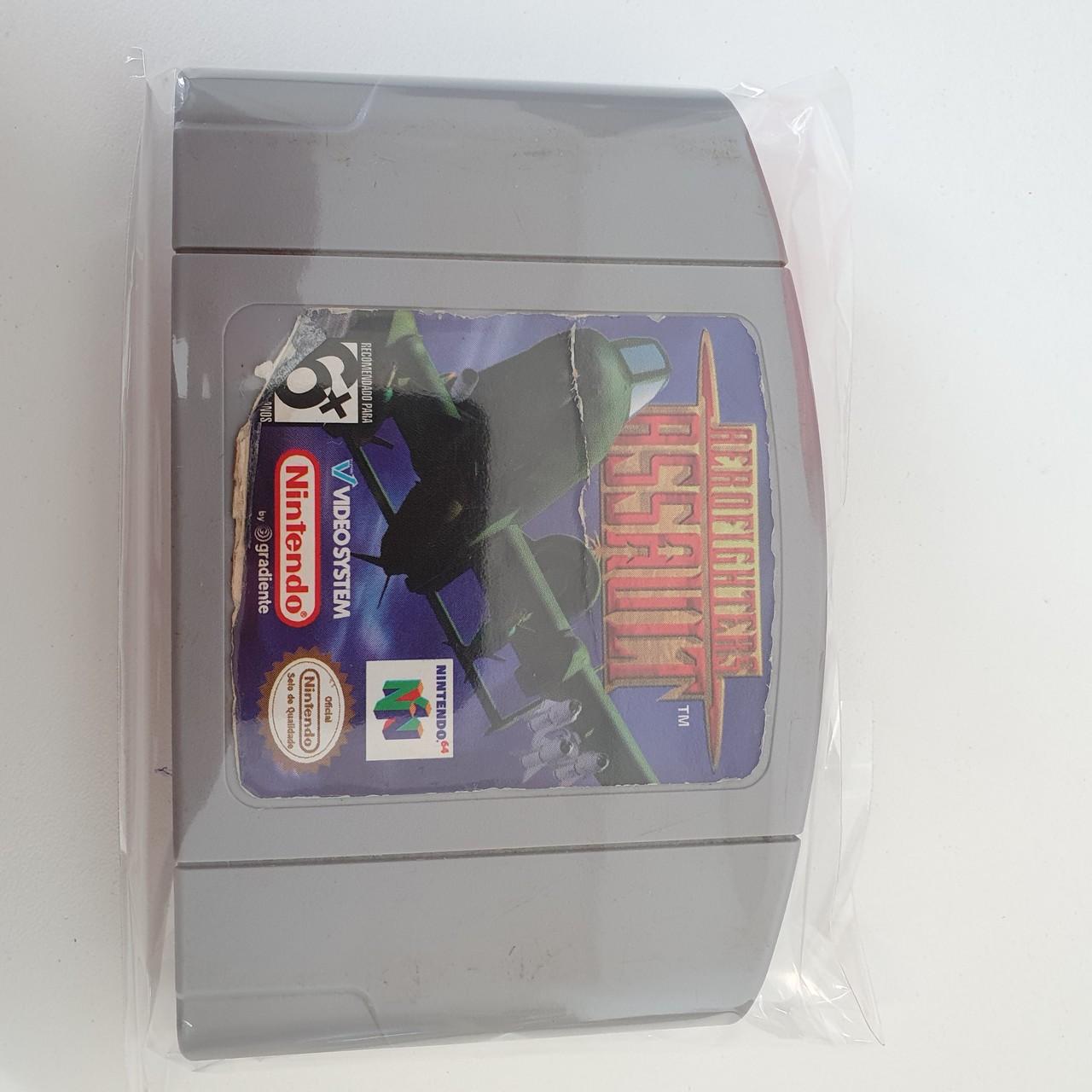 Aerofighters Assault - Cartucho - Nintendo 64 - Usado