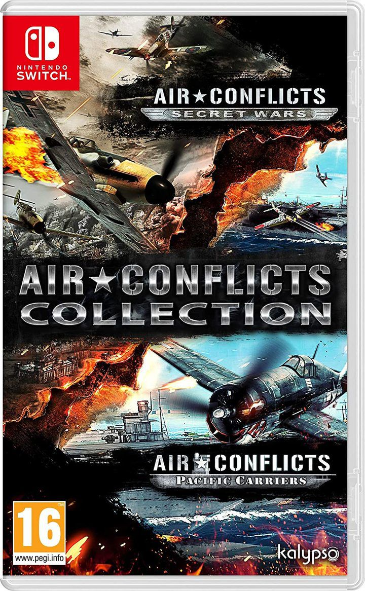 Air Conflicts Secret War (EUR) - Nintendo Switch - Envio internacional