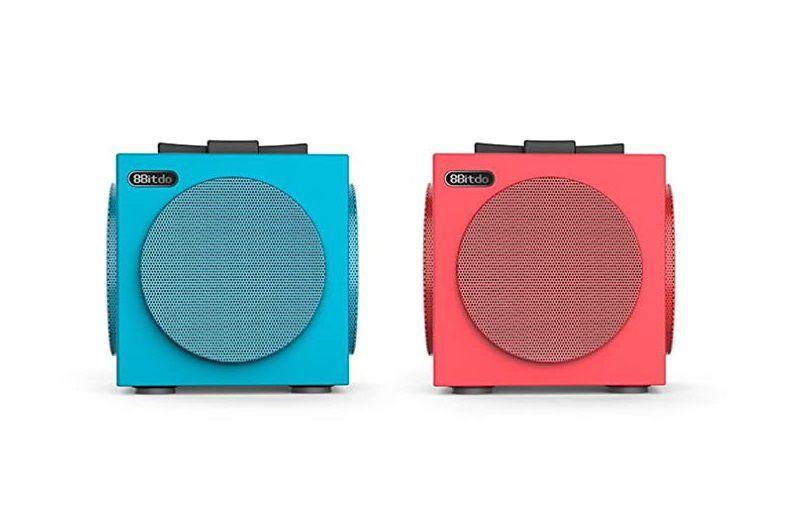 Alto-falantes TwinCube Bluetooth 8BitDo - Nintendo Switch - Envio Internacional - Frete Grátis