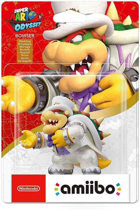 Amiibo - Bowser Wedding Outfit - Envio Internacional