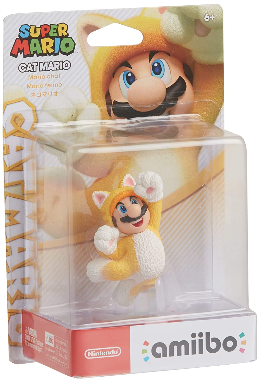 Amiibo - Cat Mario - Super Mario