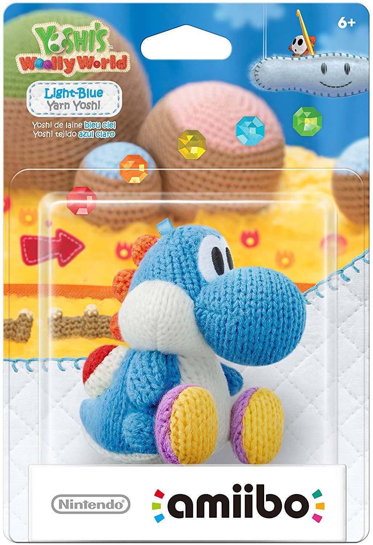 Amiibo - Fio Azul Yoshi