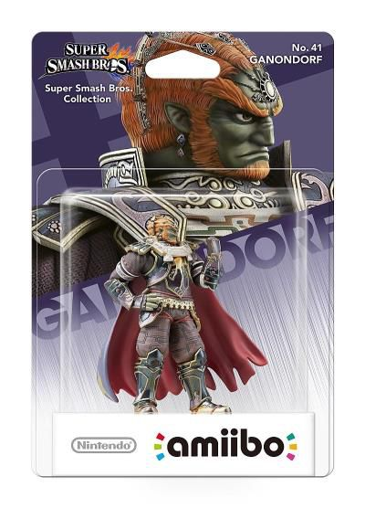Amiibo - Ganondorf (Super Smash Bros Series)