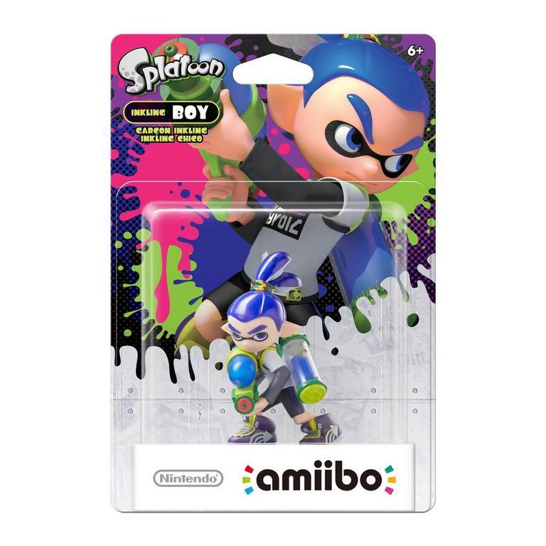 Amiibo - Inkling Boy - Envio Internacional