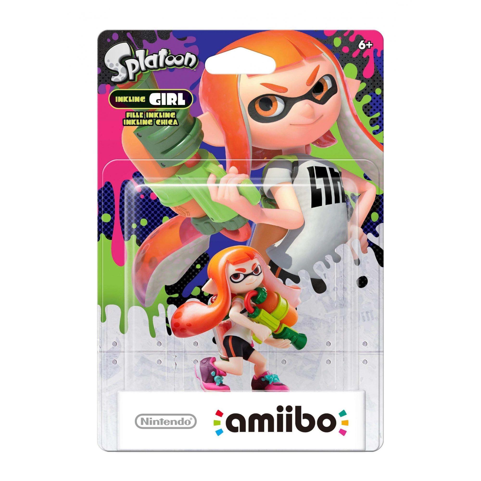 Amiibo - Inkling Girl