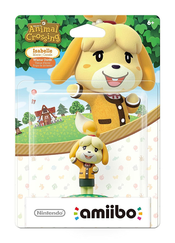 Amiibo - Isabelle Winter - Animal Crossing