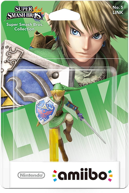 Amiibo - Link - Super Smash Bros