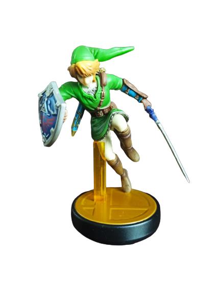 Amiibo - Link - Super Smash Bros - Usado