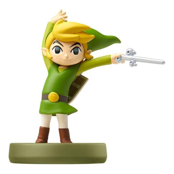 Amiibo - Link - The Wind Waker (The Legend of Zelda Series) - Envio Internacional