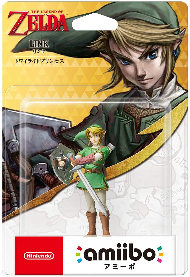 Amiibo - Link Twilight Princess - Envio Internacional