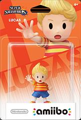 Amiibo - Lucas (Super Smash Bros. Series)